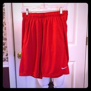 Nike Men's/Women's Red Basketball Shorts, sz Small
